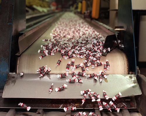 CONVEYOR BELTS FOR CONFECTIONERY